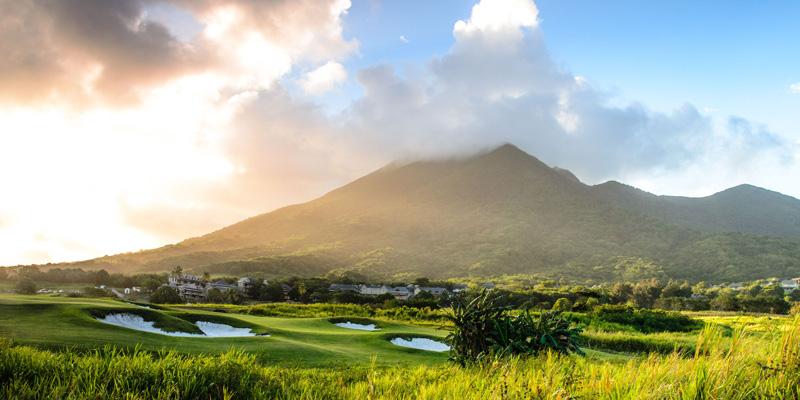 St Kitts sits Irie Fields